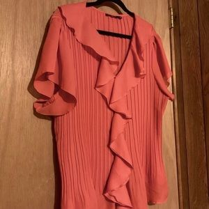 Notations Peach Pink Blouse